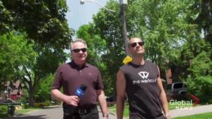 Toronto fitness club owner takes Global News for a long walk