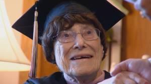 103-year-old Wisconsin woman graduates high school