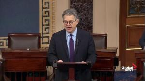 Al Franken resigns from the Senate amid sexual misconduct allegations