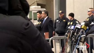 Michael Cohen departs courthouse following sentencing