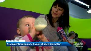 Having a baby? Don't expect to sleep for at least six years