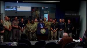Florida governor Rick Scott provides update on Hurricane Michael