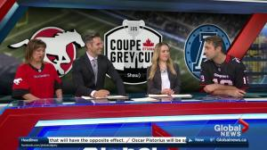 Grey Cup wager between Global Calgary and Global Toronto
