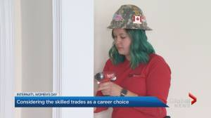 Women encouraged to pursue career in skilled trades