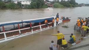 At least 13 dead after tourist boat capsizes in Thailand