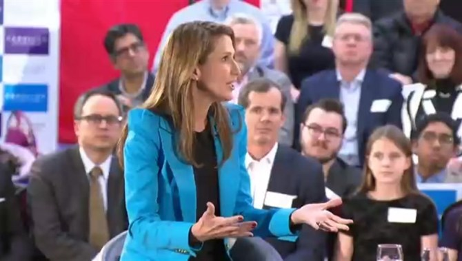 Caroline Mulroney touts major change for Ontario PC Party in first leadership campaign event