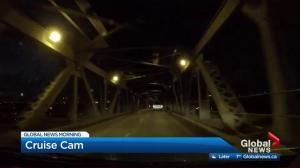 BLOOPER: Global Edmonton cameraman sings Garth Brooks on dashcam livestream