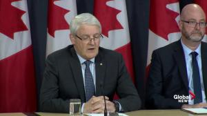 Garneau admits 'some distruption' after Boeing MAX series aircraft grounded