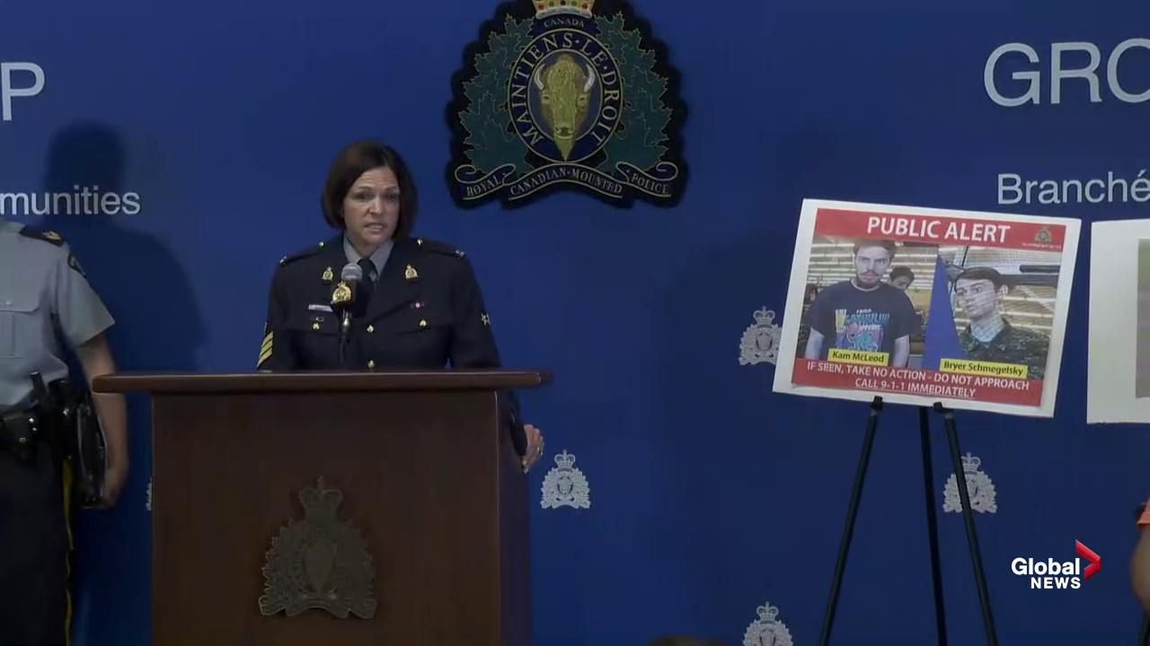 RCMP discuss release of new images in search for BC murder suspects