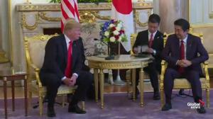 Trump says relationship with Japan has 'never been better'