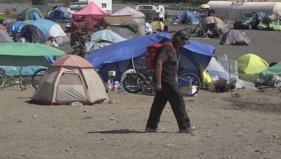 B.C. Supreme Court judge orders Saanich tent city residents to leave after granting injunction & B.C. Supreme Court judge orders Saanich tent city residents to leave ...