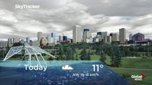 Edmonton early morning weather forecast: Monday, September 10, 2018