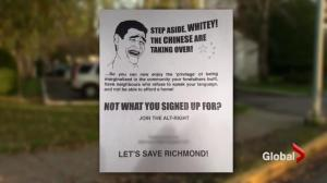 Racist flyers found in Richmond