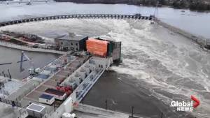 All spans of Chaudière Falls Ring Dam opened for 2nd time in its history