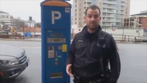 Victoria police warn of syringe found in pay parking dispenser