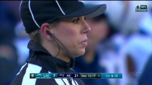 Sarah Thomas blazes new trail as first woman to referee NFL playoff game