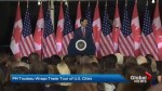 Trudeau wraps up trade tour of U.S. cities