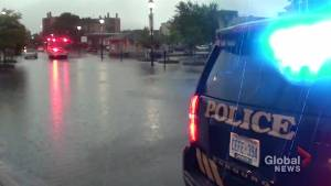 Heavy rainfall causes flooding problems in Cobourg, Port Hope