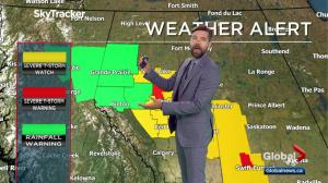 Edmonton weather forecast: July 20