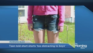 Nova Scotia girl told shorts 'too distracting' to wear