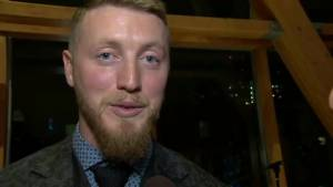 Bo Levi Mitchell credits entire organization for helping him be named Most Outstanding Player (02:08)