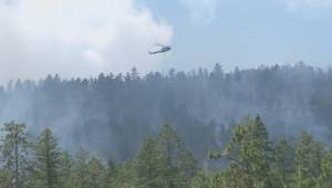 Hundreds of Peachland residents are preparing to leave their homes on short notice as multiple fires burn in the area (02:14)