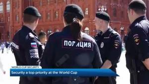 Security priorities at the World Cup & the Banksy bandit (03:39)