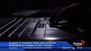 Suspect in Amanda Todd case could be extradited to Canada to face charges
