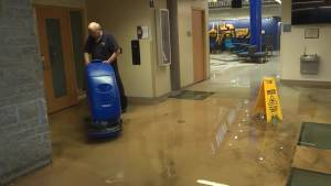 Kingston rainstorm causes flooding affecting businesses and Queen's University