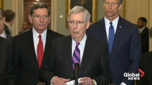 Mitch McConnell uncertain whether Trump's emergency declaration is legal