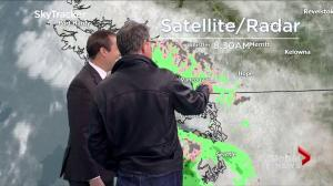 Actor Bruce Greenwood's Global BC weather blooper