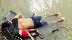 Photo of drowned father and daughter underscores U.S. migrant crisis