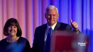Vice President-elect Mike Pence: 'This is a historic night'