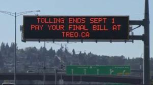No more tolls on B.C. bridges
