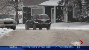 City of Calgary's 7 day snow plan in effect