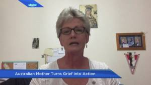 Australian mother turns grief into action