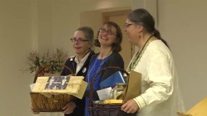 Sisters of Providence donate almost 300 heirloom seeds to local organizations.