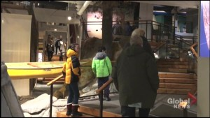 Family day festivities at the Canadian Canoe Museum