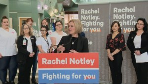 Calls for investigation into Notley event
