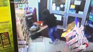 Surveillance footage released of attempted robbery at Hamilton store