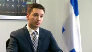 CAQ MNA Simon Jolin-Barrette says there are holes in Quebec cannabis law