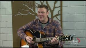 Peterborough musician Bobby McBain takes the stage at Market Hall
