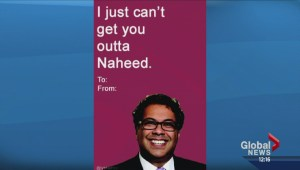 Calgary council members featured on punny Valentine's Day cards