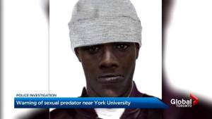 Toronto police search for suspect linked to 5 sexual assaults near York U