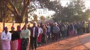 Zimbabweans head to polls in first post-Mugabe election