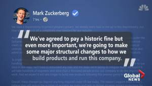 Facebook hit with massive $5 billion fine by the FTC