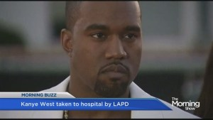 Kanye West in hospital