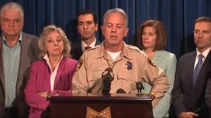 Las Vegas gunman placed cameras inside and outside hotel room