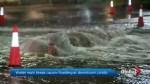 Water main break floods downtown Toronto condo parkade