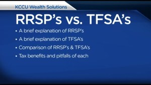 KCCU Wealth Solutions, RRSP's and TFSA's